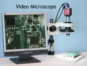 industrial stereo microscope video