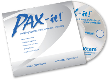 PAX-it microscopy imaging software