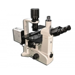 Phase Contrast Fluorescence Inverted Research Live Cell Microscope