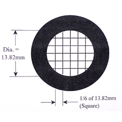 KR832 Howard mold counting reticle.