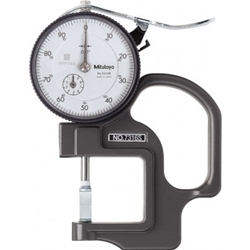 Mitutoyo 7316S groove thickness gage.