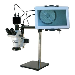 HD Digital Boom Stereo Microscope