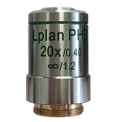 Phase Contrast 20x Microscope Objective Lens