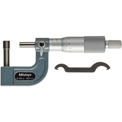 Mitutoyo Tube Micrometer 0-25mm with Cylindrical Anvil