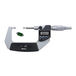 "Mitutoyo Digital Blade Micrometer 1-2"" / 25.4-50.8mm with 3mm Blade"