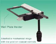 Inverted Microscope Well Plate Holder