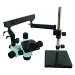 Stereo Articulated Arm Microscopes