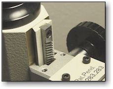 Microscope dovetail