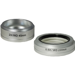Richter Optica S850 Stereo Microscope Auxiliary Lenses in 0.5x and 2x