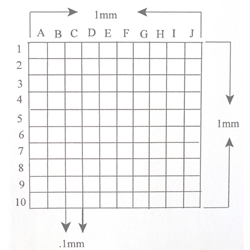 Reticle Grid KR430A