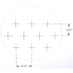 KR820 Counting Reticle