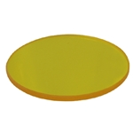 32mm yellow Glass Microscope Filter