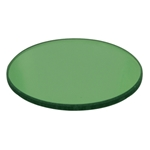 32mm green Glass Microscope Filter