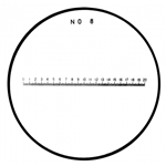 Mitutoyo scale reticle 183-109.