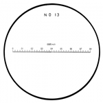 Mitutoyo scale reticle 183-114.