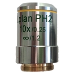 Phase Contrast 10x Microscope Objective Lens