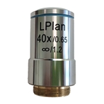 Plan 40x Microscope Objective Lens