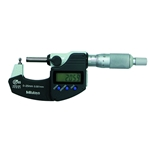 Mitutoyo Digital Tube Micrometer 0-25mm with Spherical Anvil