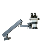 Electronic Inspection Zoom Articulated Arm Stereo Microscope