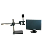 Electronics Inspection Zoom Microscope Boom System HD Camera