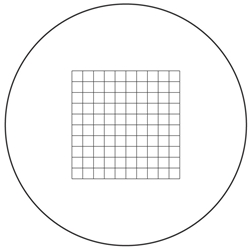 Reticle Grid 10mm