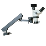 Digital Electronic Inspection Zoom Articulated Arm Stereo Microscope