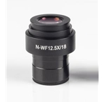 Motic WF 12.5x Focusable Eyepiece Diopter Adjustment