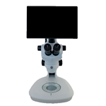 Richter Optica S850LCD-VLED Digital HD Stereo Microscope 8x-50x on LED Stand