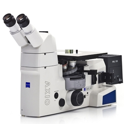 Zeiss Axio Vert.A1 Materials Metallurgical Inverted Microscope for Brightfield, Darkfield, DIC, and Fluar